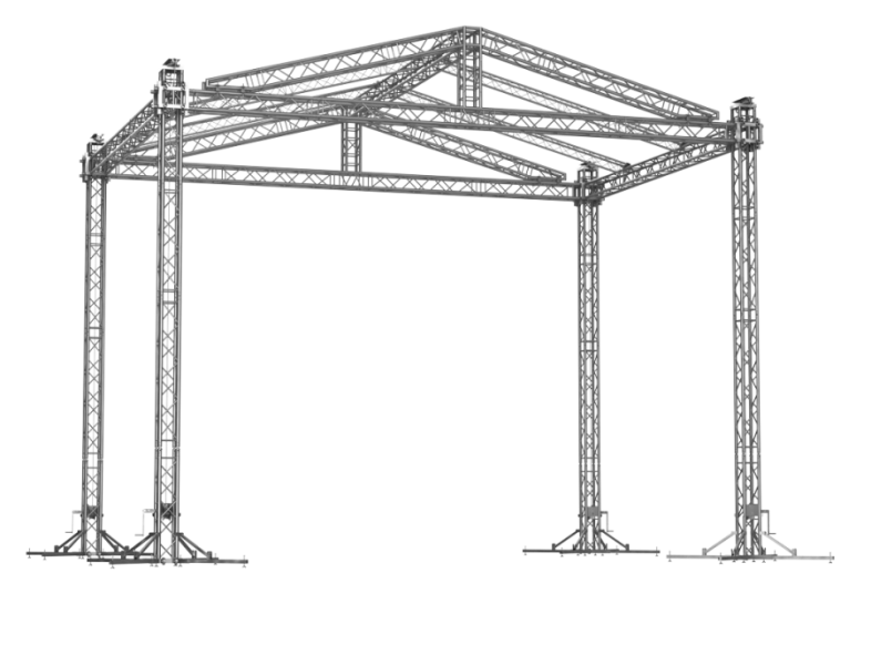 TAF Truss Aluminium   GABLE ROOF 8x6   Roofs
