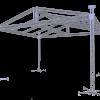 TAF Truss Aluminium | ROOF-2 8x6m | Roofs