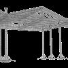 TAF Truss Aluminium | ROOF-3 | Roofs