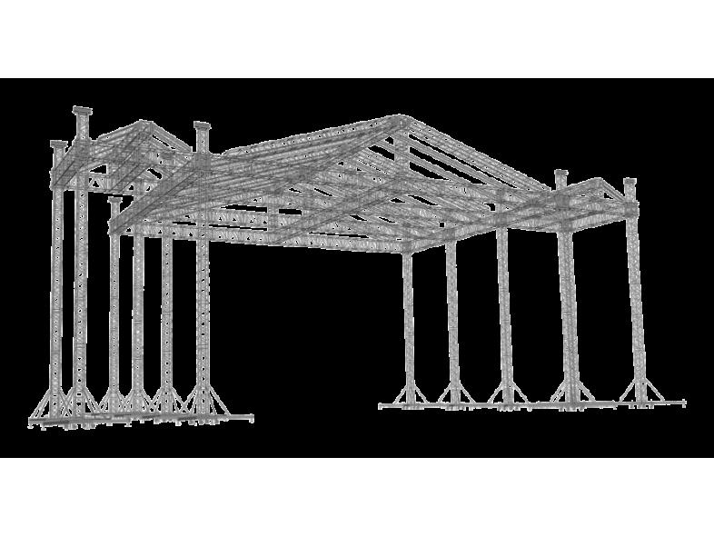 TAF Truss Aluminium   ROOF-3   Roofs