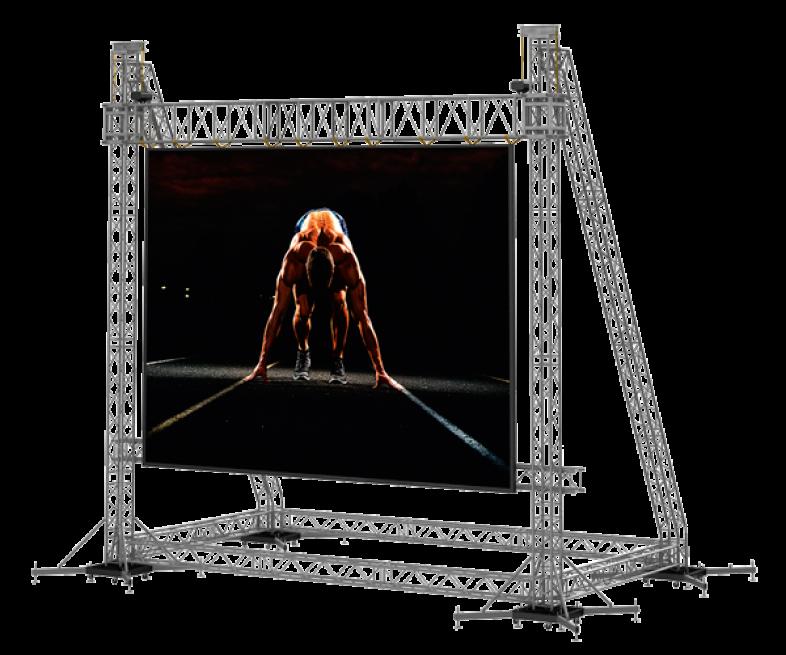 TAF Truss Aluminium   LED Frames