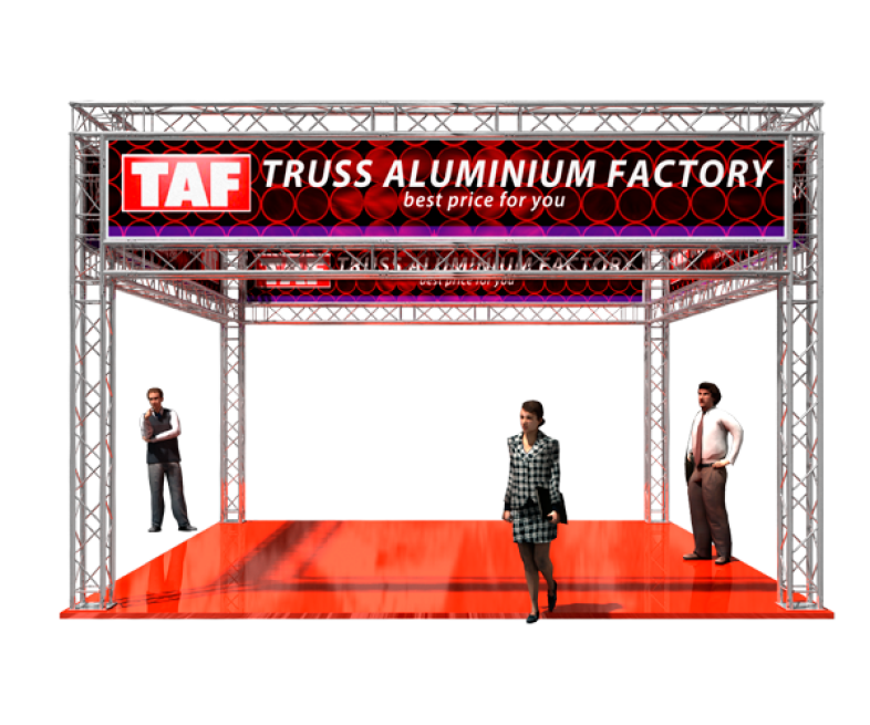 TAF Truss Aluminium | Exhibit designs
