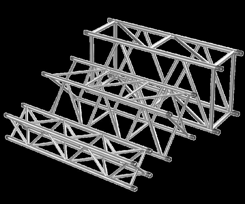 TAF Truss Aluminium | Fork Truss