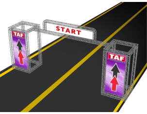 TAF Truss Aluminium | GATE 4 | Gates