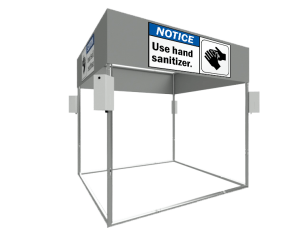 TAF Truss Aluminium | Sanitizer Station SD60 | Sanitizer Stands