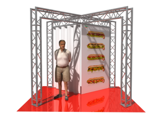 TAF Truss Aluminium | 5104 | Exhibit designs