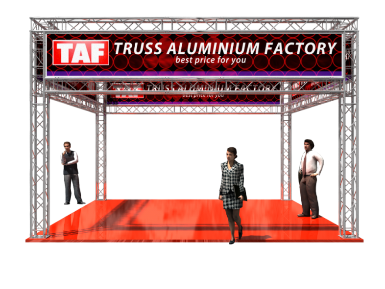 TAF Truss Aluminium | 5301 | Exhibit designs