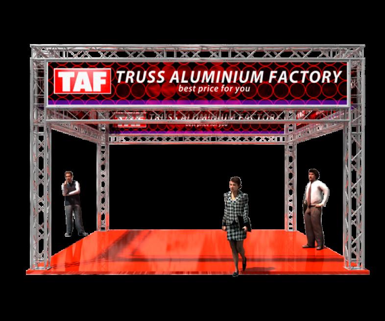 TAF Truss Aluminium | Puestos de exhibición