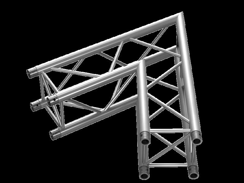 TAF Truss Aluminium | PTH34-C20 | PT Truss