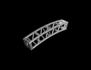 TAF Truss Aluminium | FTB-L-CV | Bolted Truss