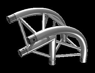TAF Truss Aluminium | PT33-C25R | PT Truss
